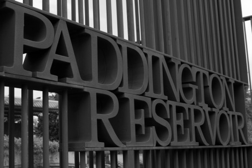 Paddington REservoir Sign